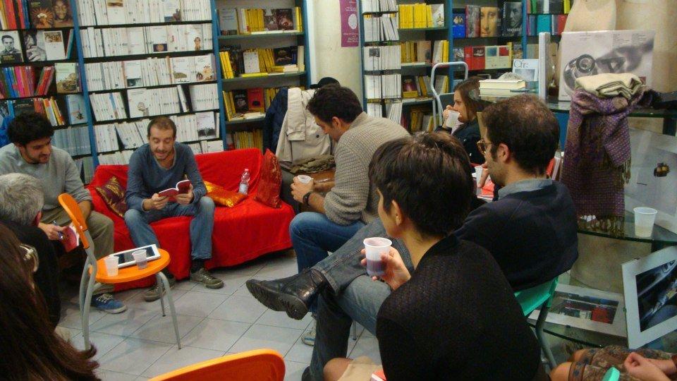Una foto della presentazione del 27 ottobre alla libreria Einaudi di Siena