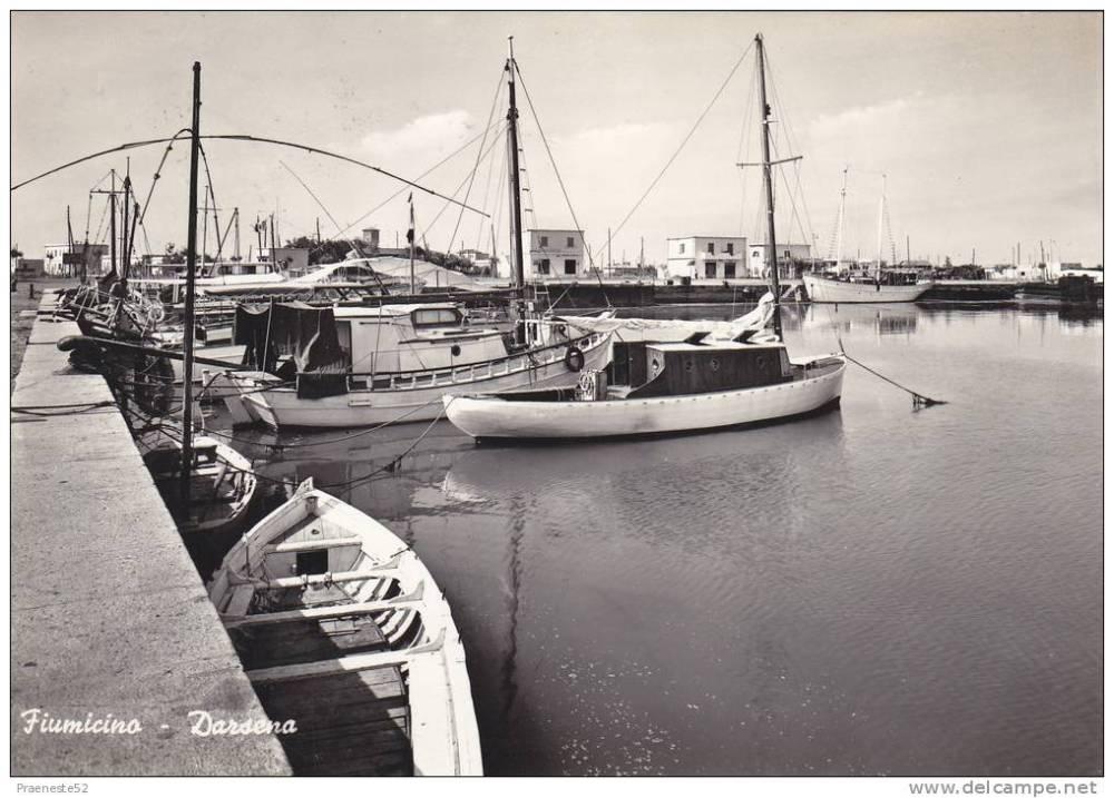 Fiumicino, Darsena, 1959