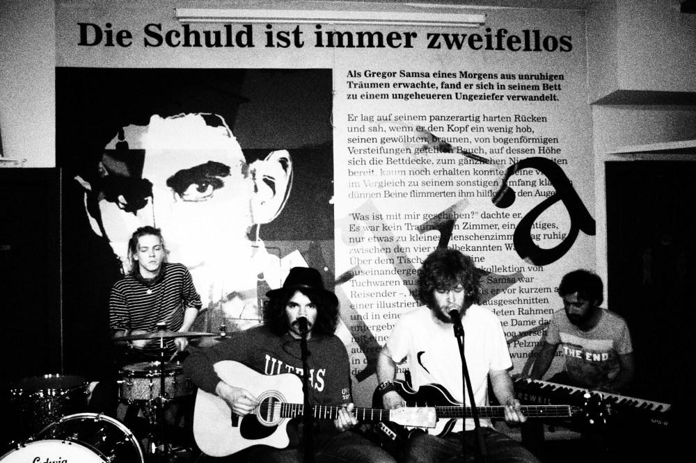 I KotS in concerto al Café Kafka di Bruxelles