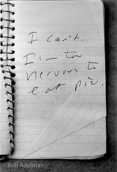 Taccuino di Carver (1989) © Bob Adelman