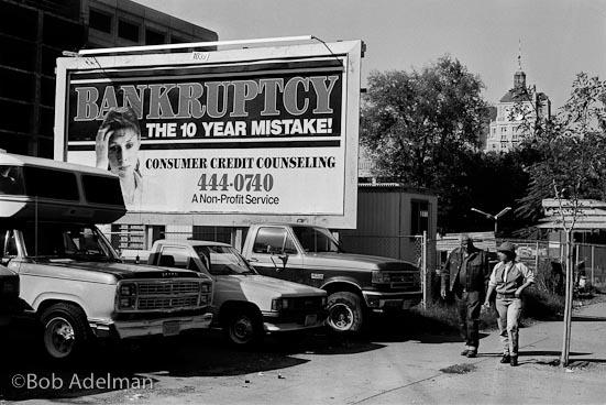 Sacramento, California. (1989) © Bob Adelman
