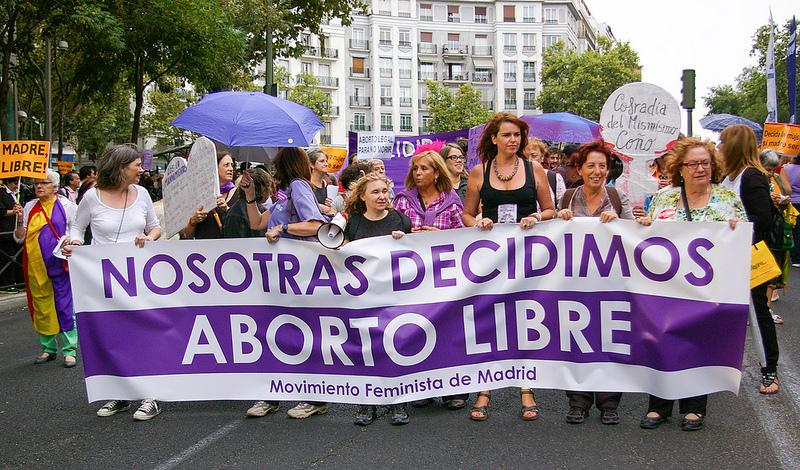 Aborto libre. Decidimos nosotras. cc Flickr gaelx