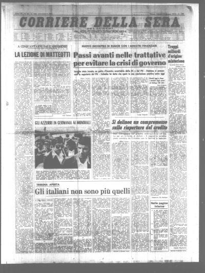 Gli italiani non sono più quelli, 10-06-74