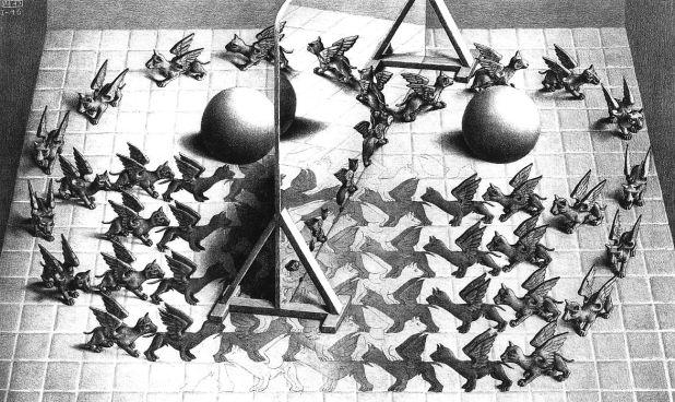 M.C.Escher, Specchio Magico