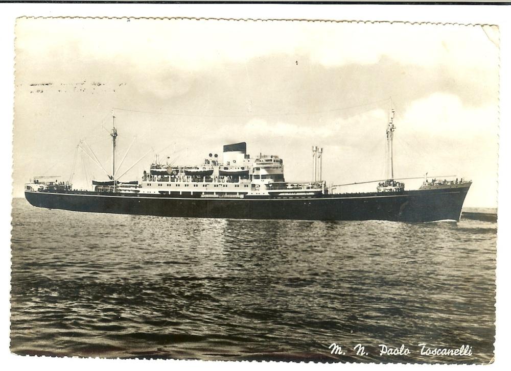 Cartolina7aprile1951-imbarco