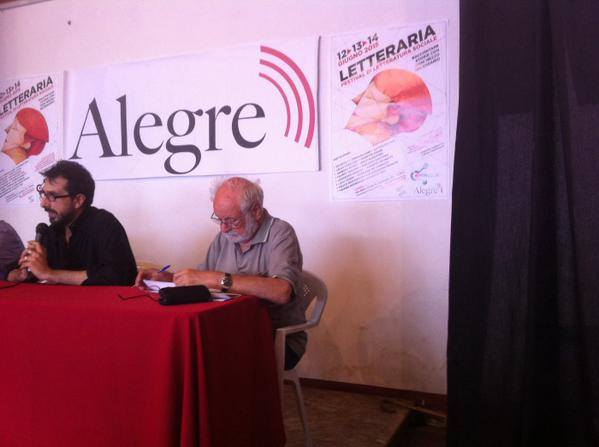 Tommaso De Lorenzis e Goffredo Fofi