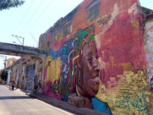 Cartagena de Indias. Street art. Foto di Phyllthis.