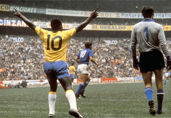 Finale 1970 Brasile-Italia, 4-1.
